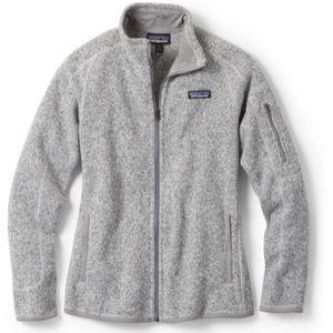 Patagonia women's better sweater jacket L